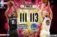 NBA playoffs 2017: Spurs battuti , ma a testa alta.