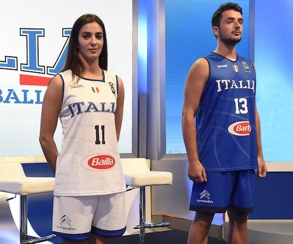Federaione Italiana Pallacanestro: la Citroen Italia nuovo sponsor delle Nazionali