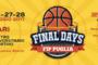 Finali Campionati Giovanili 2016-17: la grande idea del CR Fip Puglia dei Final Days