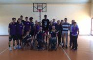 Basket in carrozzina: Le società Sportive Lido di Roma Basket e Santa Lucia Basket ospiti dell'IC Via Mar dei Caraibi di Ostia