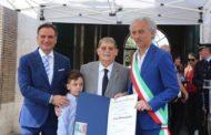 Storie di Basket 2017: il Cav. Lucio Benacquista ha ricevuto l'onoreficenza di di Commendatore della Repubblica