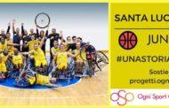Basket in carrozzina 2017-18: il Santa Lucia Basket lancia una nuova sfida, un team giovanile per la Serie B