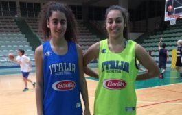 Giovanili 2017: due U15 delle Tigers Rosa, Eleonora e Noemi Duca nella Nazionale femminile per gli EYOF
