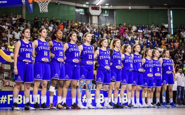 Nazionali 2017-18: ai Mondiali Italbasket U19F regge 25' di gioco poi Team USA dilaga 66-49