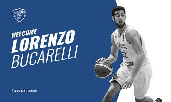 Lega A PosteMobile Mercato 2017-18: anche Lorenzo Bucarelli nel roster della Dinamo Sassari
