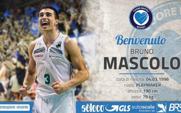 A2 Citroen Ovest Mercato 2017-18: Bruno Mascolo è il nuovo play della Cuore Basket Napoli