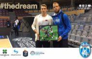 FIBA Champions League 2017-18: l'Orlandina ha voluto ricordare a Chalon-sur-Saône l'ex-Adam Wojcik consegnando targa al figlio Jan