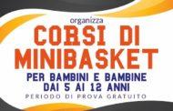 Giovanili 2017-18: al via le iscrizioni al Minibasket del Basket Ruggi Salerno