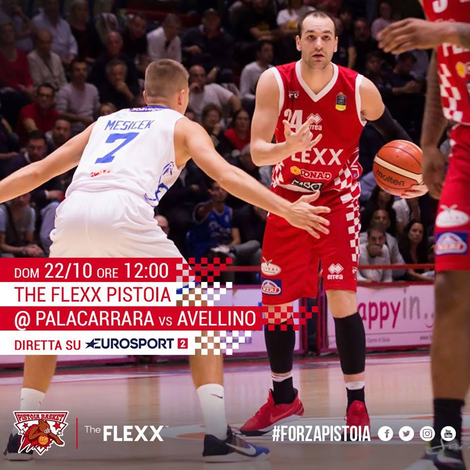 Lega A PosteMobile 2017-18: nel #LunchMatch della domenica la Sidigas Avellino nel ribollente catino di Pistoia vs la The Flexx