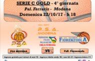 Serie C Gold Emilia Romagna - Giovanili 2017-18: la PSA Modena affronta il Fiorenzuola ma c'è anche il Pink Day