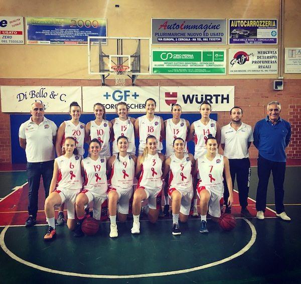 Serie B Femminile Campania 2017-18: il Basket Ruggi Salerno in visita all'Olimpia Capri