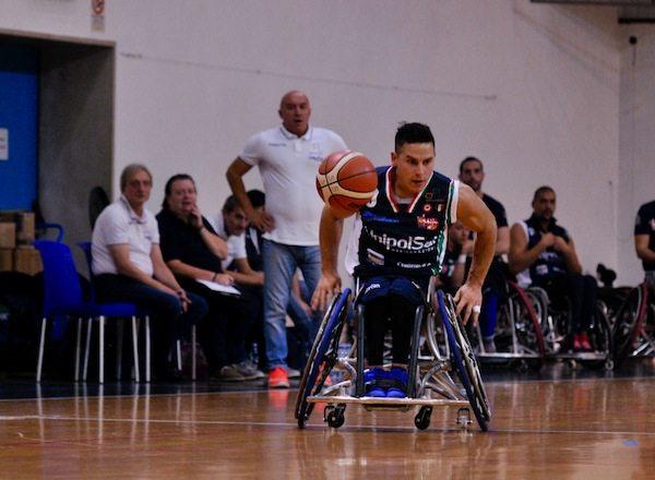 Basket in carrozzina #SerieA1Fipic 2017-18: l'UnipolSai senza problemi in casa dell'SBS Montello