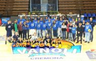 Baskin 2017-18: presentata oggi al PalaRadi la Pepo Team Vanoli della Guerino Vanoli Basket Cremona