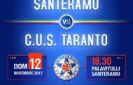 Serie C Silver Puglia 2017-18: la Pu.Ma. Trading Taranto cerca il riscatto vs il Murgia Santeramo Basket