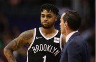 NBA 2017-18: Nets, si fa male anche D'Angelo Russell! Chi guida l'aereo?