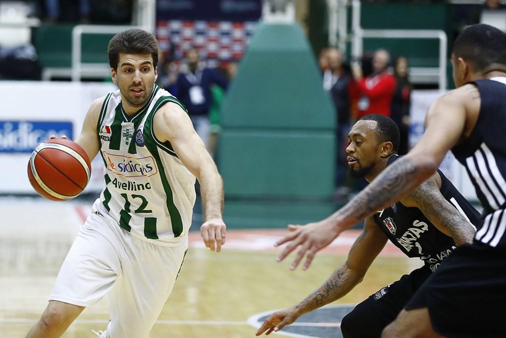 Basketball Champions League 2017-18: la Sidigas Avellino tuona e sconfigge la capolista del girone Besiktas 90-74
