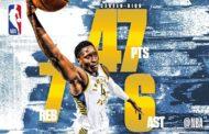 NBA 2017-18: nella notte NBA del 10 Dicembre Oladipo career high e vittoria con i suoi Pacers