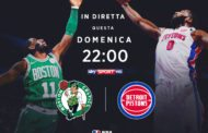 NBA 2017-18: l'appuntamento di domenica sera è tra Detroit Pistons e Boston Celtics la storia della Eastern Conference