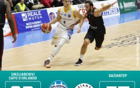 Basketball Champions League 2017-18: finalmente è la SikeliArchivi Orlandina che rifila 26 punti di scarto agli avversari
