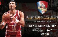 Storie di Basket 2018: intervista a Dino Meneghin per l'Old Star Game del 24 febbraio