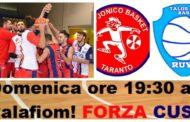 Serie C Silver Puglia 2017-18: la Pu.Ma. Trading Taranto vuole il riscatto in casa vs la Tecnoswitch Ruvo