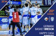 Lega A PosteMobile 2017-18: le info sui biglietti per assistere a Germani Brescia-Happy Casa Brindisi del 5 marzo