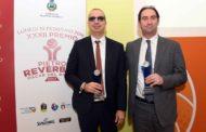 Lega A PosteMobile 2017-18: premiati con il Premio Reverberi Oscar del basket Walter De Raffaele e Federico Casarin della Reyer