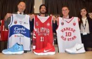 Storie di basket Old Star Game 2018: le divise ed i roster dell'evento a favore di Fondazione Operation Smile Italia Onlus