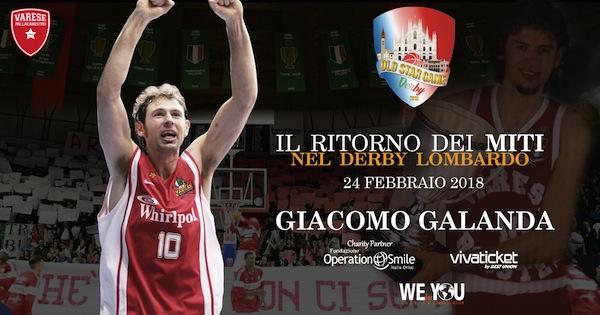 Storie di basket 2018: intervista a Giacomo Galanda per l'Old Star Game del 24 febbraio