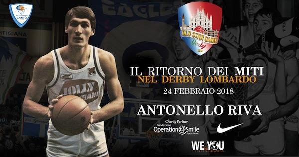 Storie di Basket 2018: intervista ad Antonello Riva per l'Old Star Game del 24 febbraio