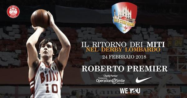 Storie di Basket 2018: intervista a Roberto Premier per l'Old Star Game del 24 febbraio