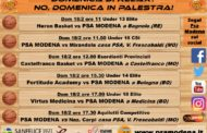 Serie C Gold Emilia - Giovanili Maschili Femminili 2017-18: il programma del weekend del settore giovanile della PSA Modena