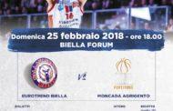 A2 Ovest Old Wild West 2017-18: i biglietti e le info su Eurotrend Biella-Moncada Agrigento