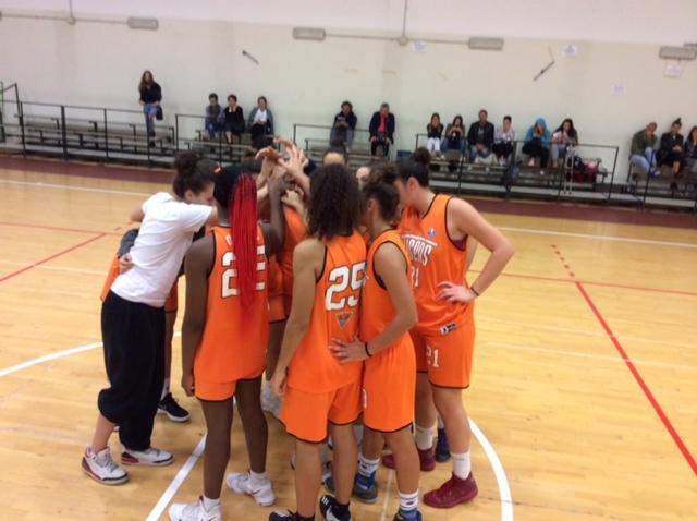 Giovanili Femminili 2017-18: nel primo match nell'Interzona di Urbania ottimo esordio delle Tigers Rosa U20F che battono le Givova Ladies