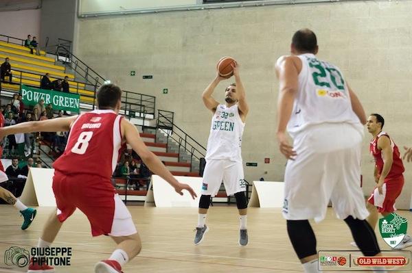 Serie B girone B Old Wild West 2017-18: d'un punto il Green Basket Palermo ha avuto ragione della Bakery Piacenza