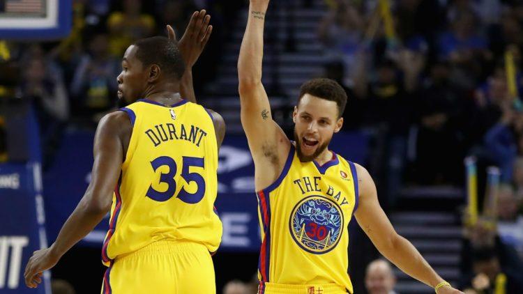 NBA 2017-18 nella notte dell'8 Marzo Kevin Durant immenso trascina i Warriors alla vittoria con rimonta