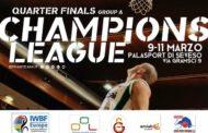 Basket in carrozzina Champions League 2017-18: la tabella dei Quarti di finale a Seveso con la UnipolSai Briantea84