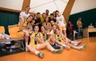 Lega Basket Femminile A2 girone Sud 2017-18: la gioia del San Raffaele Basket Roma per la salvezza conquistata
