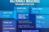 Nazionale 2017-18: ecco il programma dell'Italbasket per la prossima estate decisiva per i Mondiali cinesi del 2019