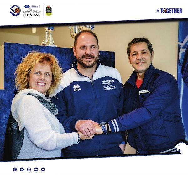 Lega A PosteMobile 2017-18: Andrea Diana sarà allenatore alla Germani Brescia fino al 2020