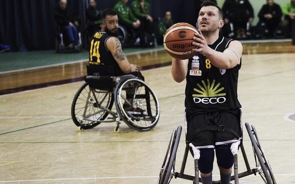 Basket in Carrozzina #SerieA Fipic 2017-18 semifinali: la DECO Group Amicacci Giulianova è in finale, eliminato il Santo Stefano UBI Banca