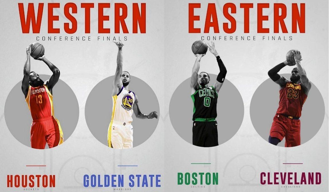 NBA Playoffs 2017-18 nella notte del 10 Maggio si è giocata l'ultima gara prima delle Finals di Conference