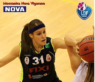 Lega Basket Femminile A1 mercato 2018-19: Sara Bocchetti giocherà con la Meccanica Nova Vigarano