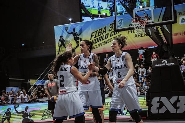 Fip-Italbasket: benissimo la Nazionale femminile nelle prime due gare della Fiba 3X3 World Cup