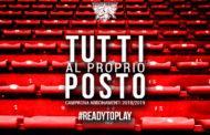 Lega A PosteMobile 2018-19: ben 829 abbonati a Pistoia nella prima fase della Campagna Abbonamenti