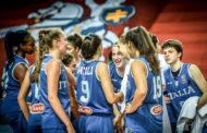 Nazionale Femminile 2018: le ragazze dell'Italbasket U16F sono un rullo compressore agli Europei in Lituania, spazzata la Polonia 74-36