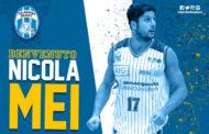 A2 Ovest Old Wild West Mercato 2018-19: l'Orlandina Basket ingaggia Nicola Mei per la prossima stagione