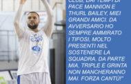 Lega A PosteMobile precampionato 2018-19: per Jonathan Tavernari giocare a Cantù è un sogno che si avvera