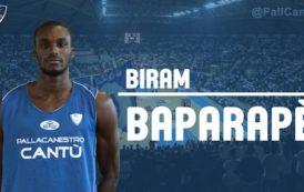 Lega A PosteMobile mercato 2018-19: Biram Baparapè è stato confermato alla Pallacanestro Cantù