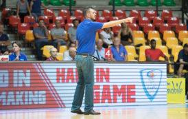 FIBA Basketball Champions League #QRound1 2018-19: il vice-coach Nicola Brienza della Pallacanestro Cantù presenta Gara2 in Ungheria vs il Szolnoki Olaj di sabato 22 settembre